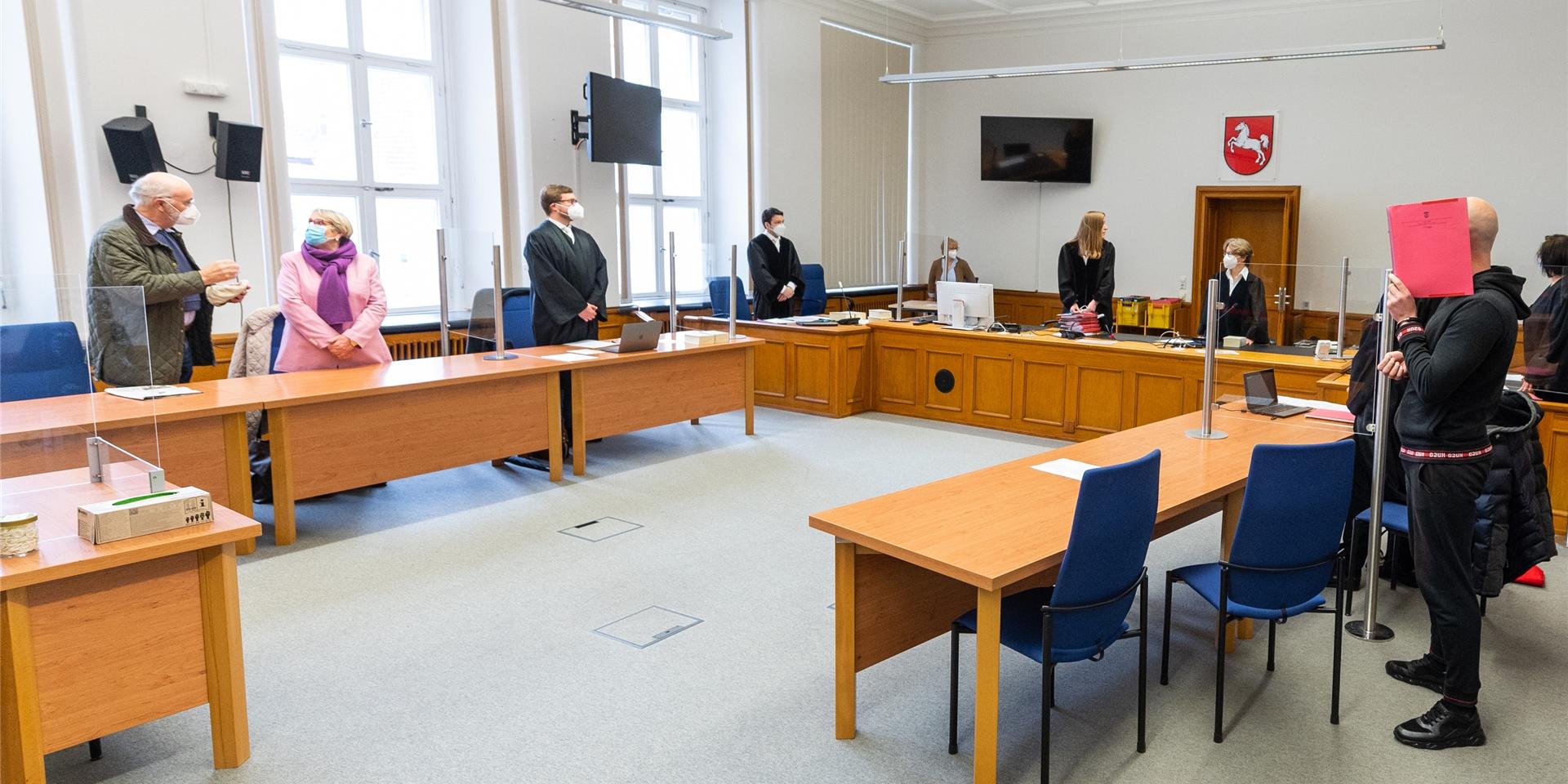Waltroper vor Gericht Zeugen berichten vom Überfall in Celle