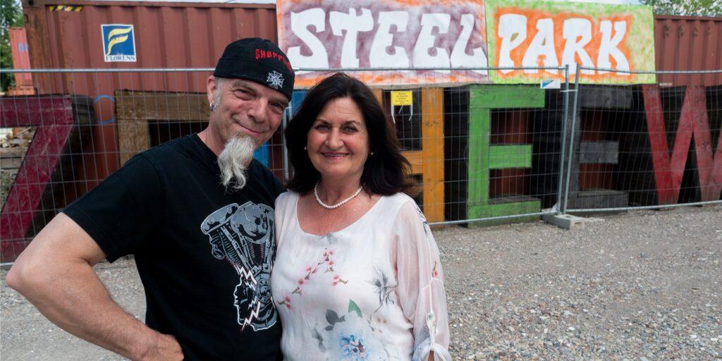 Stephan Hinrichs (56) und Sabine Hinrichs-Leschinski (58), Betreiber des künftigen